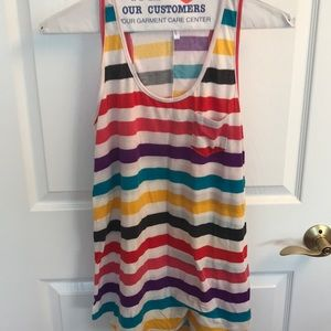 Size large maternity tank top